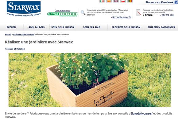 starwax jardiniere