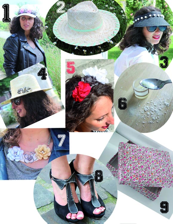 DIY semaine chapeau collier isabel marrant boite liberty