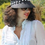 DIY : Customiser une visière avec des perles | Customize a visor with pearls