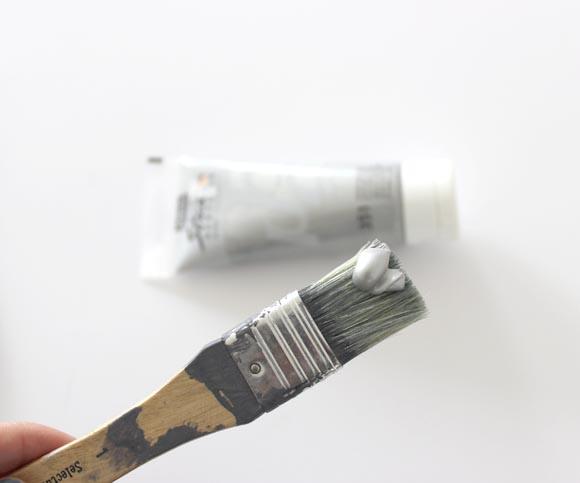 peindre des coquillages