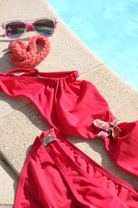 customiser un maillot de bain avec du liberty ilovediy