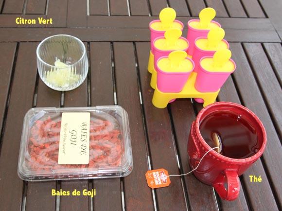 esquimaux au thé roiboos baies de goji