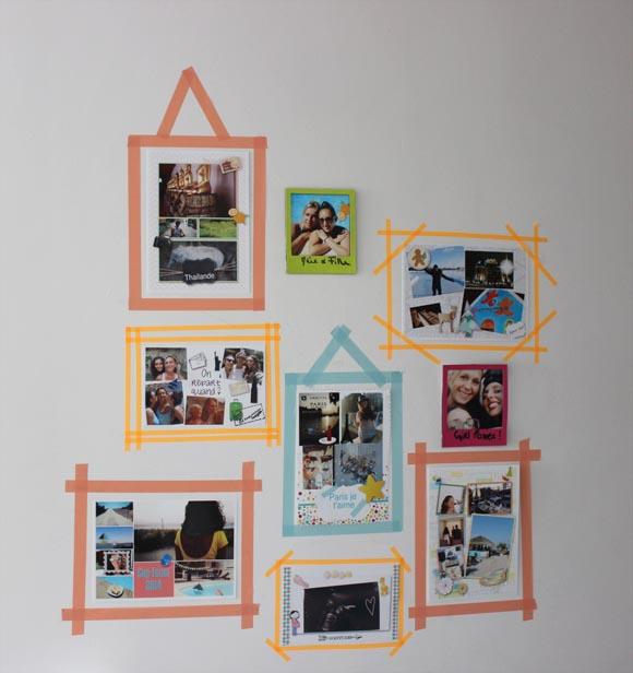 mur de photo DIY2