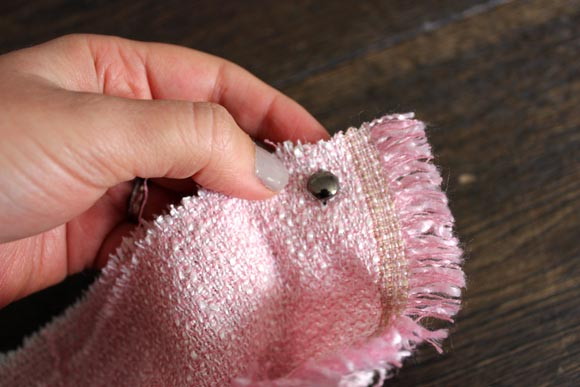 utiliser des clous pour eviter des coudre