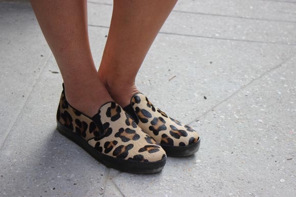 slipon leopard eden shoes