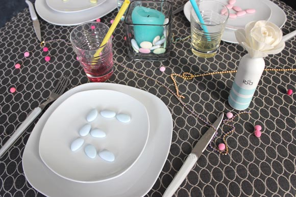 DECO TABLE DIY SIMPLE