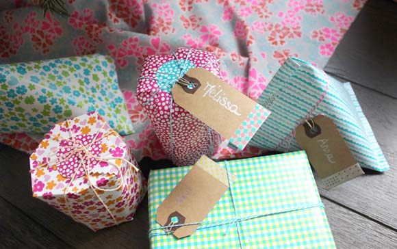 emballage cadeau diy facile2