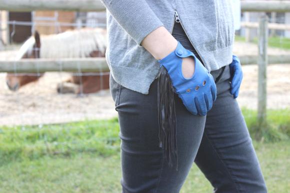 gants a franges diy