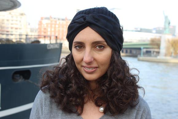 un bonnet facon turban