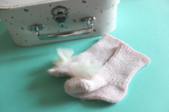 tuto chausettes a pompon