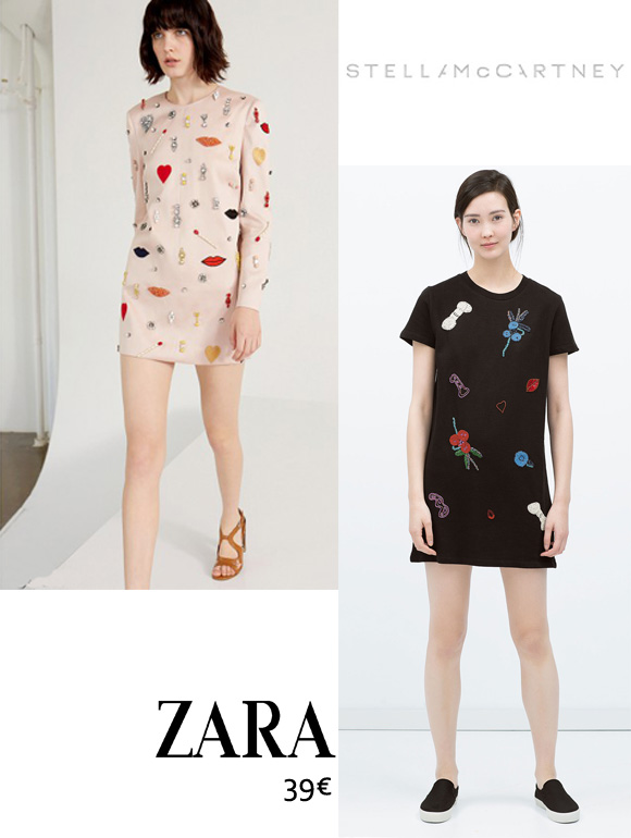 un air de stella mccartney chez zara
