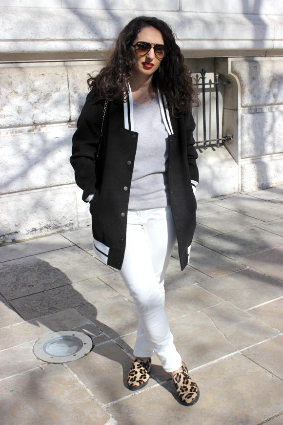 blog mode teddy long pantalon blanc slip on