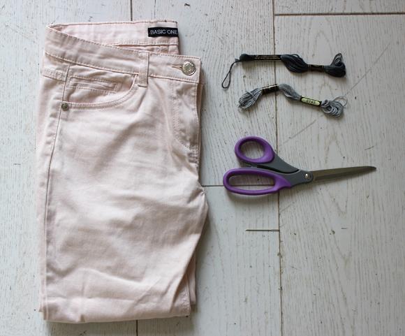 materiel custo pantalon