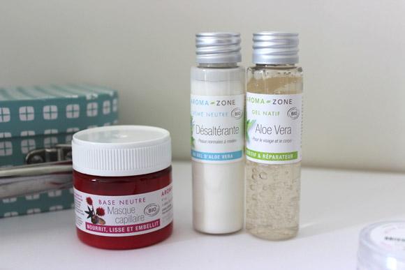 base toute faite pour faire ses cosmetiques aroma zone