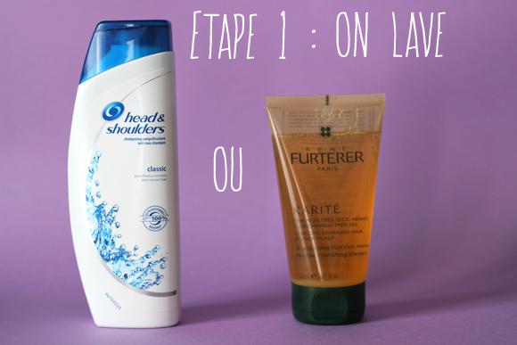 shampoing karite furterer routine cheveux bouclés