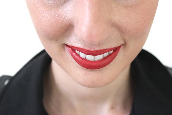 bouche rouge