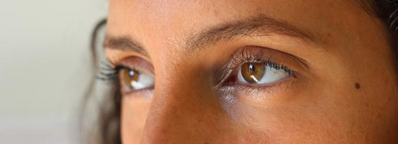 fard irisé coin interne de l oeil