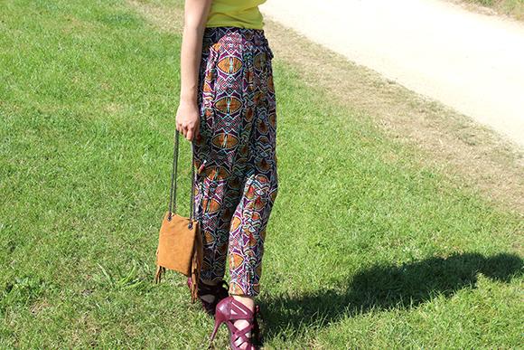 pantalon african style etam