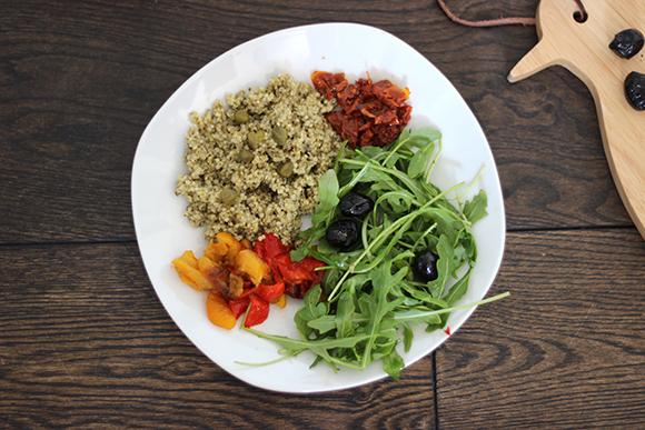 salade italienne quinoa