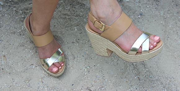 sandales stradivarius