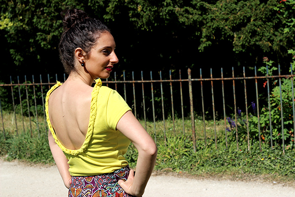 top decollete tresse diy ilovediy