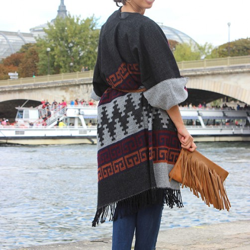 DIY : Le poncho ultra-facile