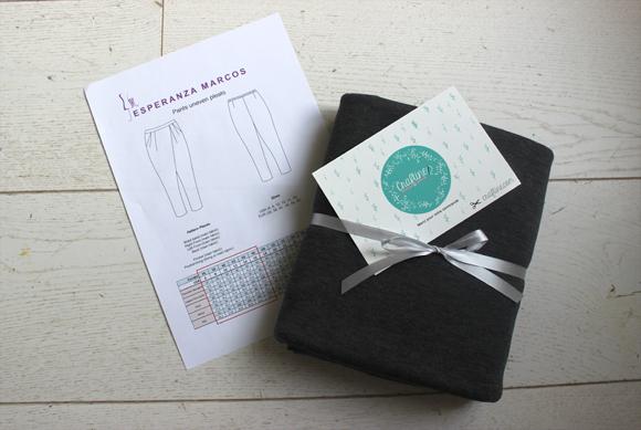 tissu jersey milano gris craftine
