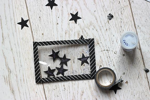 voeux en étoiles diy