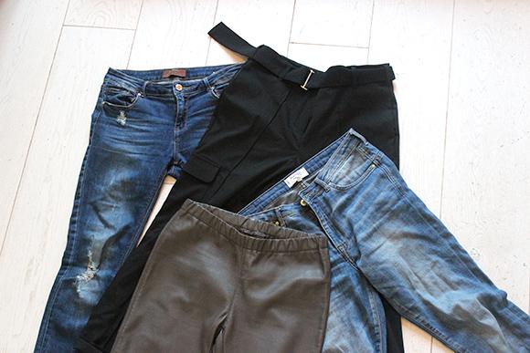 jeans et pantalons les essentiels