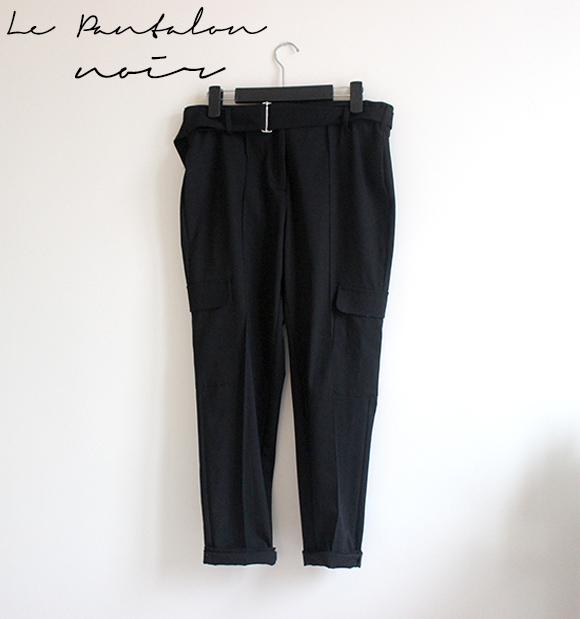 la pantalon noir