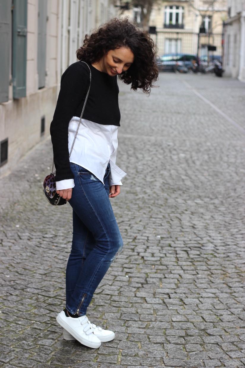 le relooking de la chemise d homme en crop top ilovediy blog mode paris