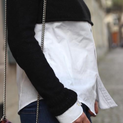 DIY : Le pull crop chemise