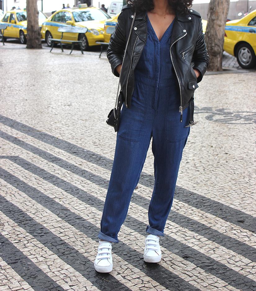 combinaison en jeans comment la porter