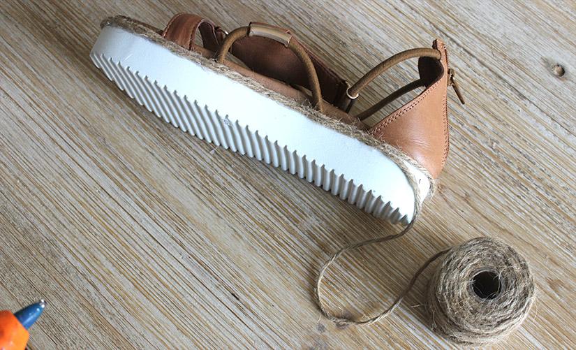 customisez des sandales