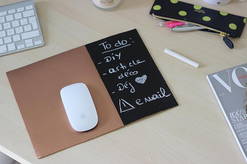 mouse pad diy copper