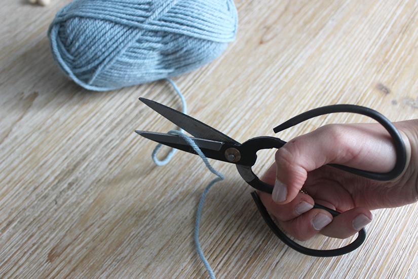 couper 60cm de laine