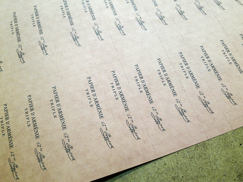 dans les coulisses du papier d arménie