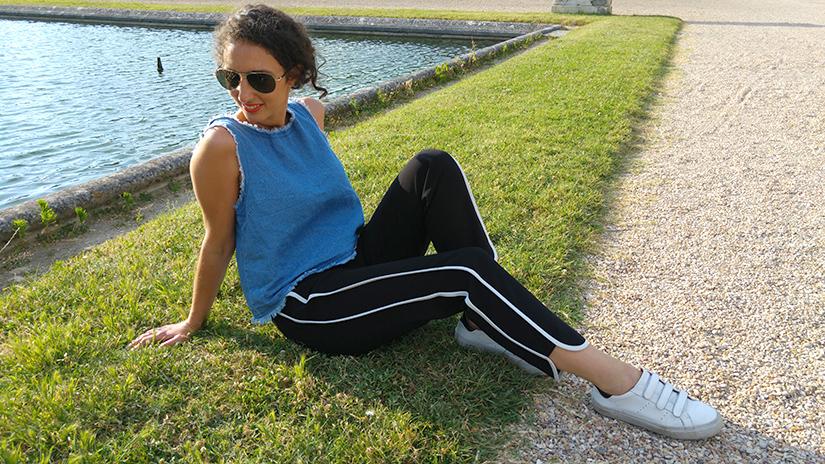 outfit le pantalon jogging river island