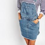 robe salopette jean