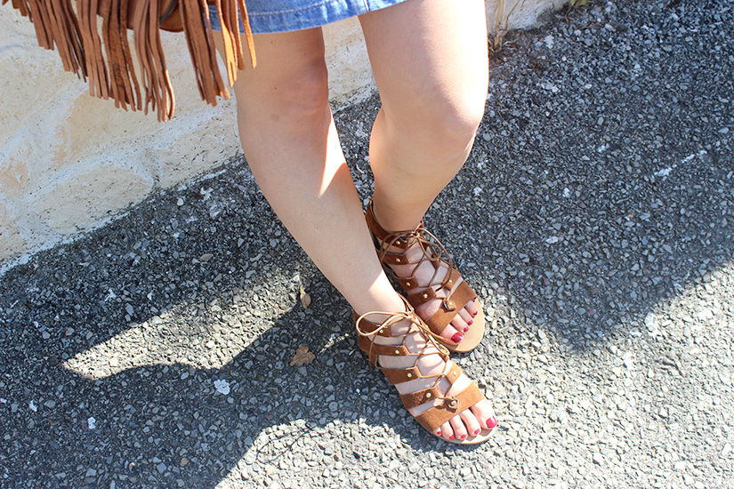 sandales sacha camel blog mode look paris