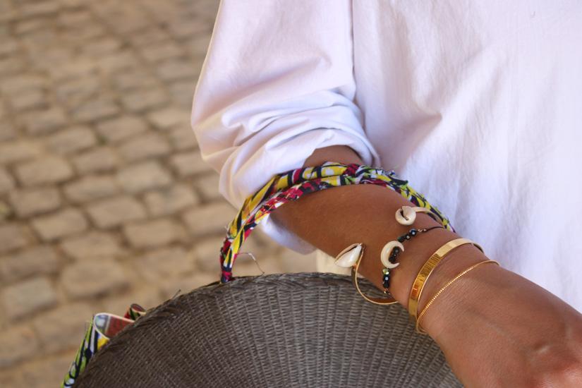 detali bracelet corne bali diy
