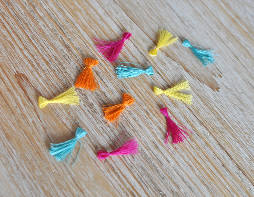 fabriquer des pompons a partir de fil à coudre