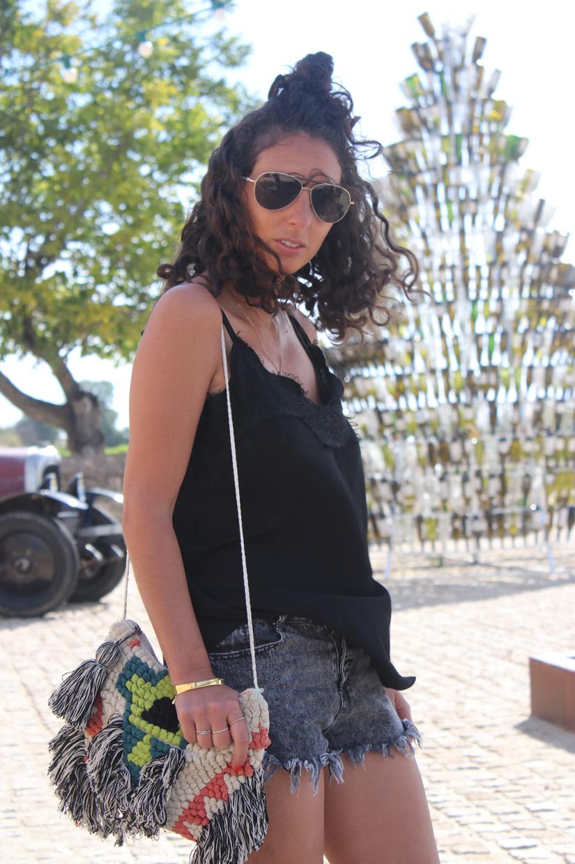 streetsyle blog mode porter le short en denim