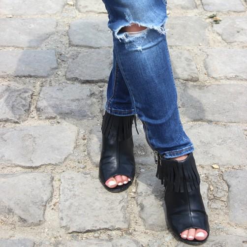 DIY : Les boots à franges