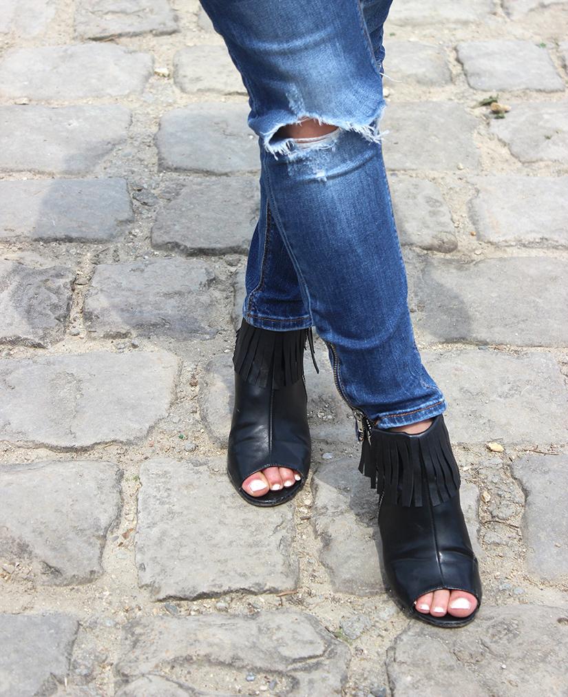 boots a franges diy