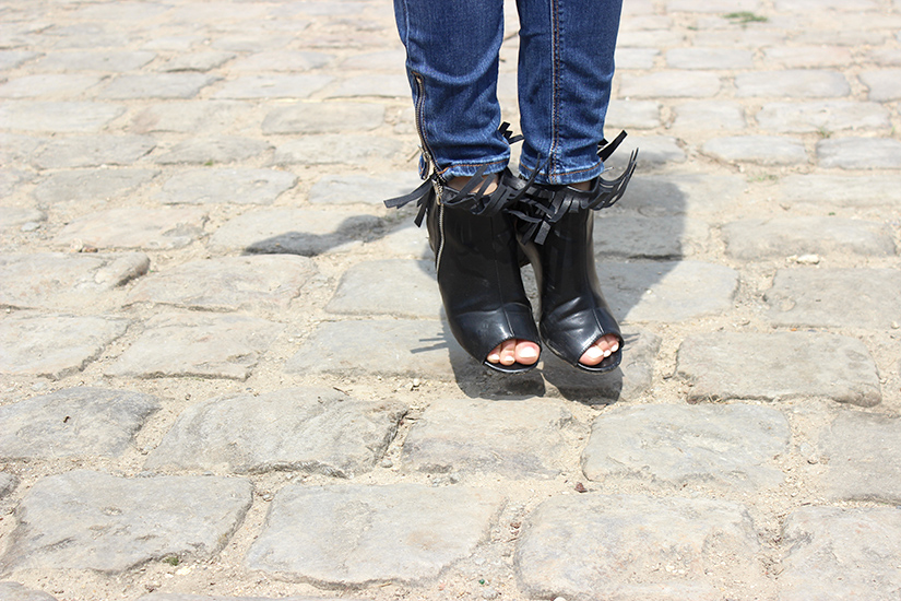 fringe boots make it yourself