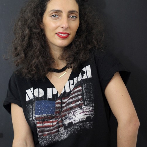 DIY  : Le tee-shirt rock ras du cou