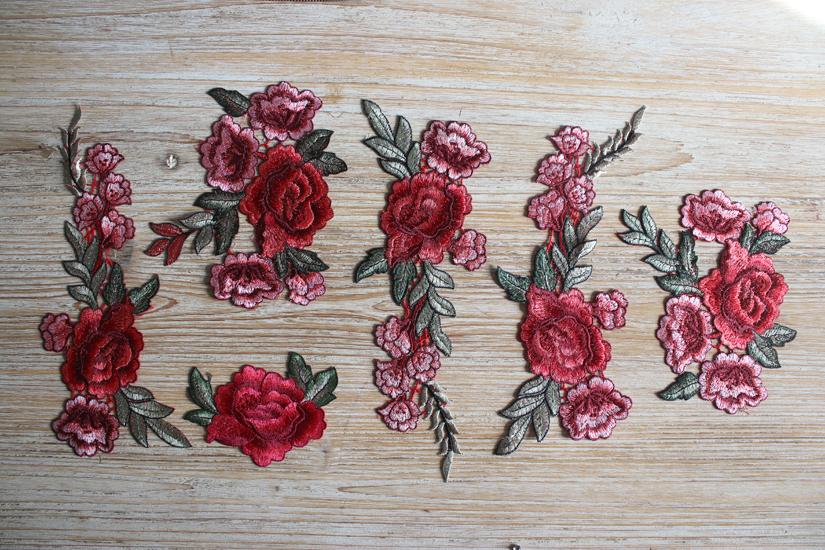 patch fleuri