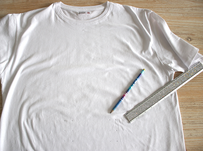 que faire avec un tee shirt trop grand