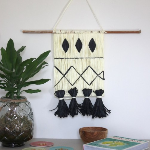 DIY : La suspension façon tissage